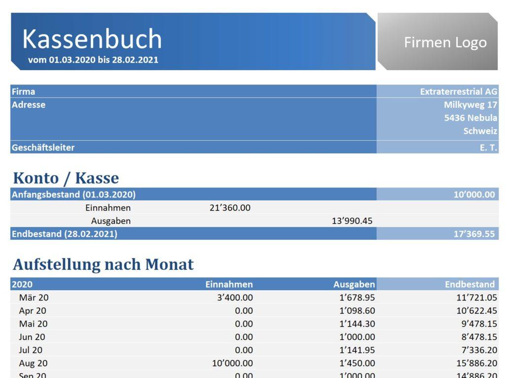 Kassenbuch Excel Download Freeware De